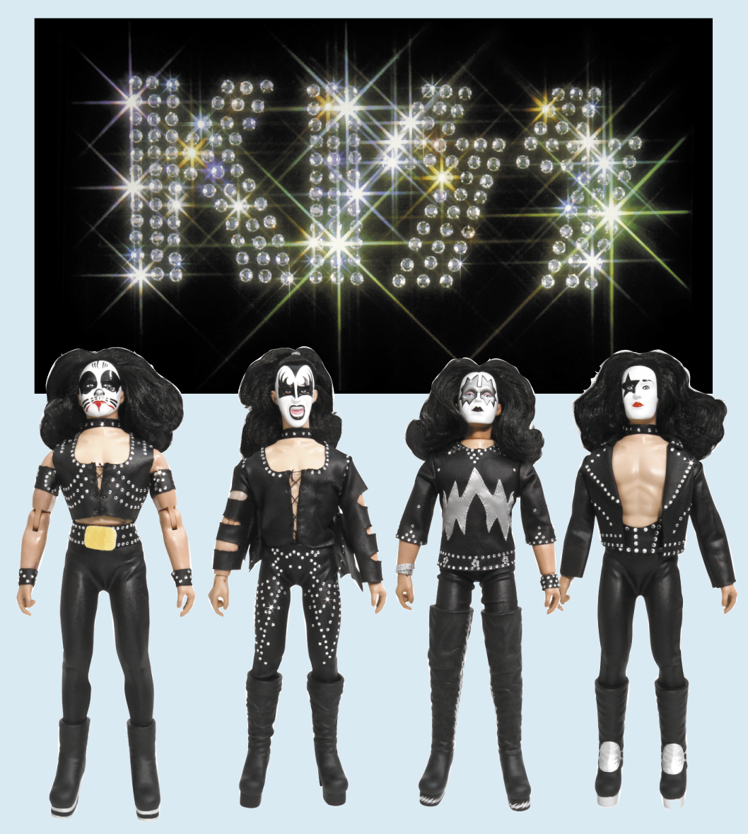 KISS 12-IN RETRO AF SERIES 2 ASST 1ST ALBUM