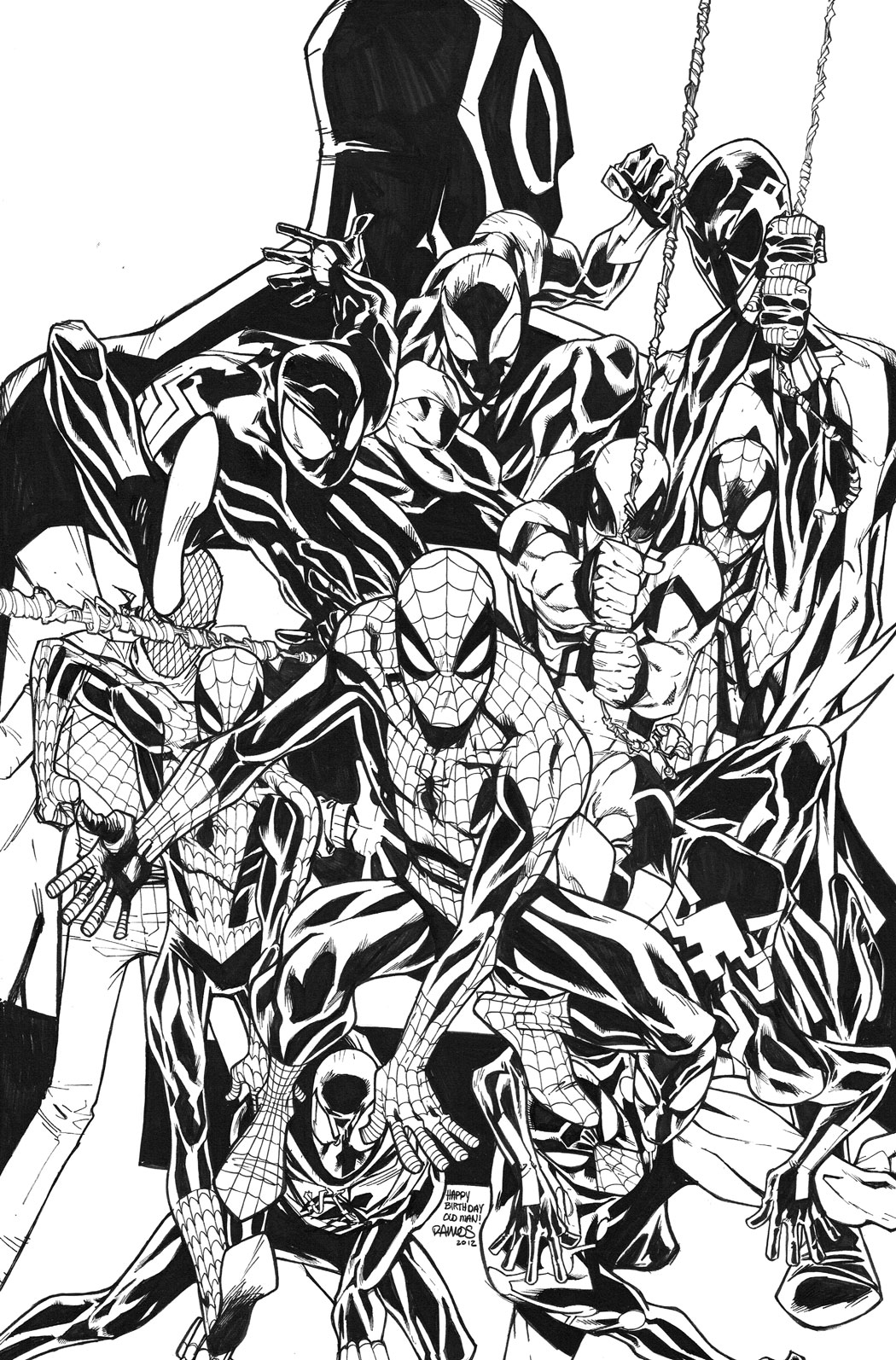 AMAZING SPIDER-MAN #692 2ND PTG RAMOS VAR