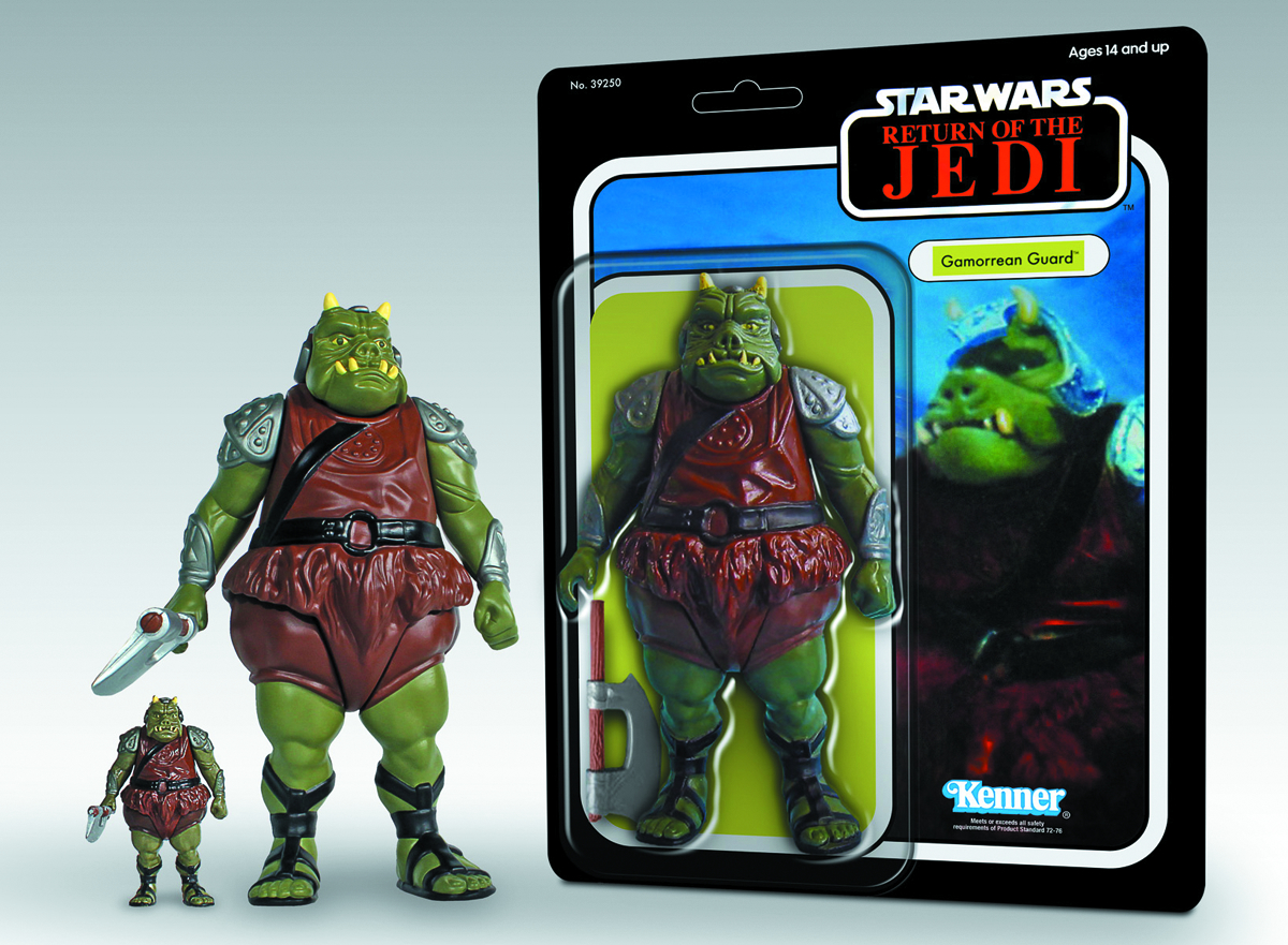 SW ROTJ KENNER GAMORREAN GUARD 12-IN AF