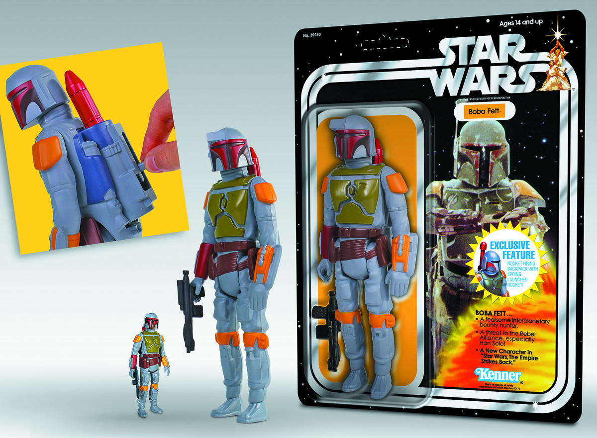 SW KENNER ROCKET-FIRING BOBA FETT 12-IN AF