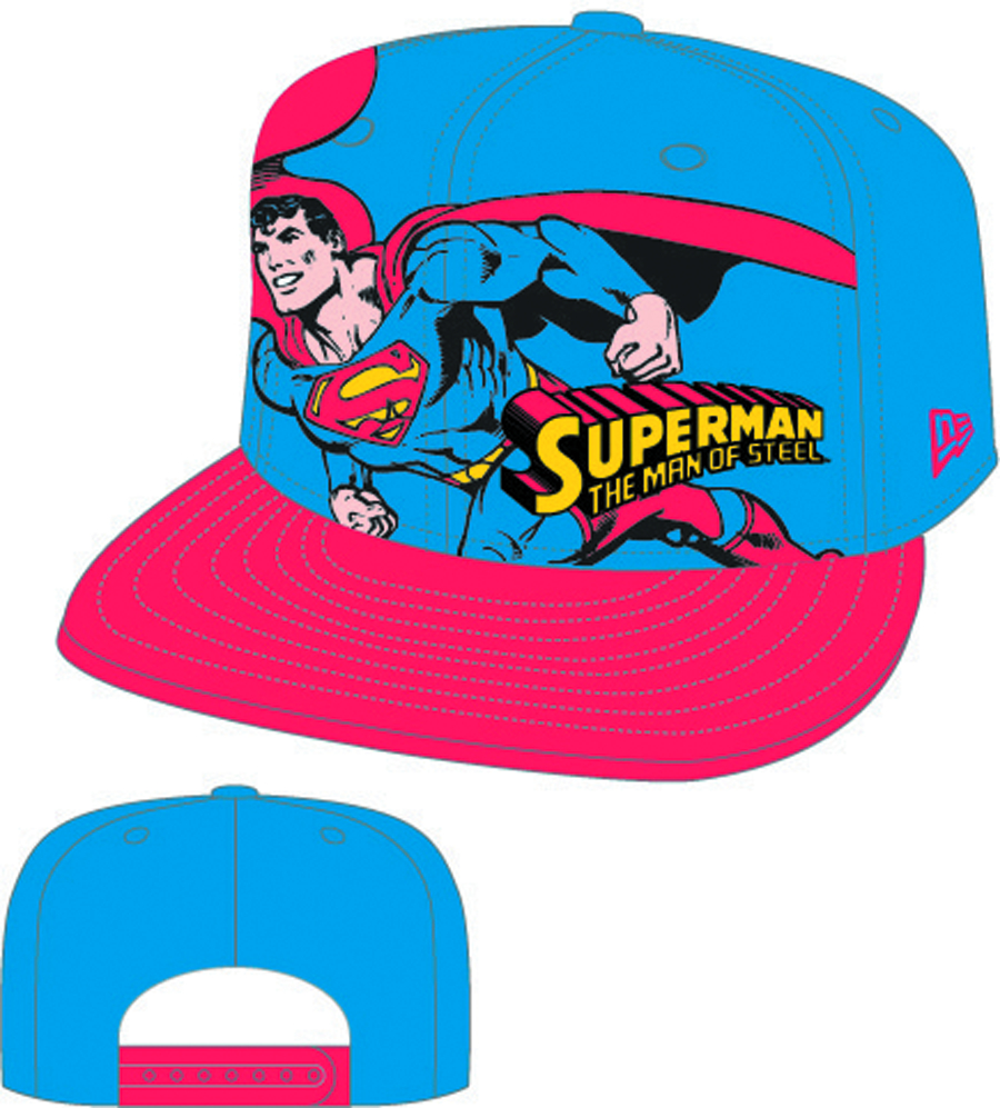 HERO STANCE SUPERMAN SNAP BACK CAP