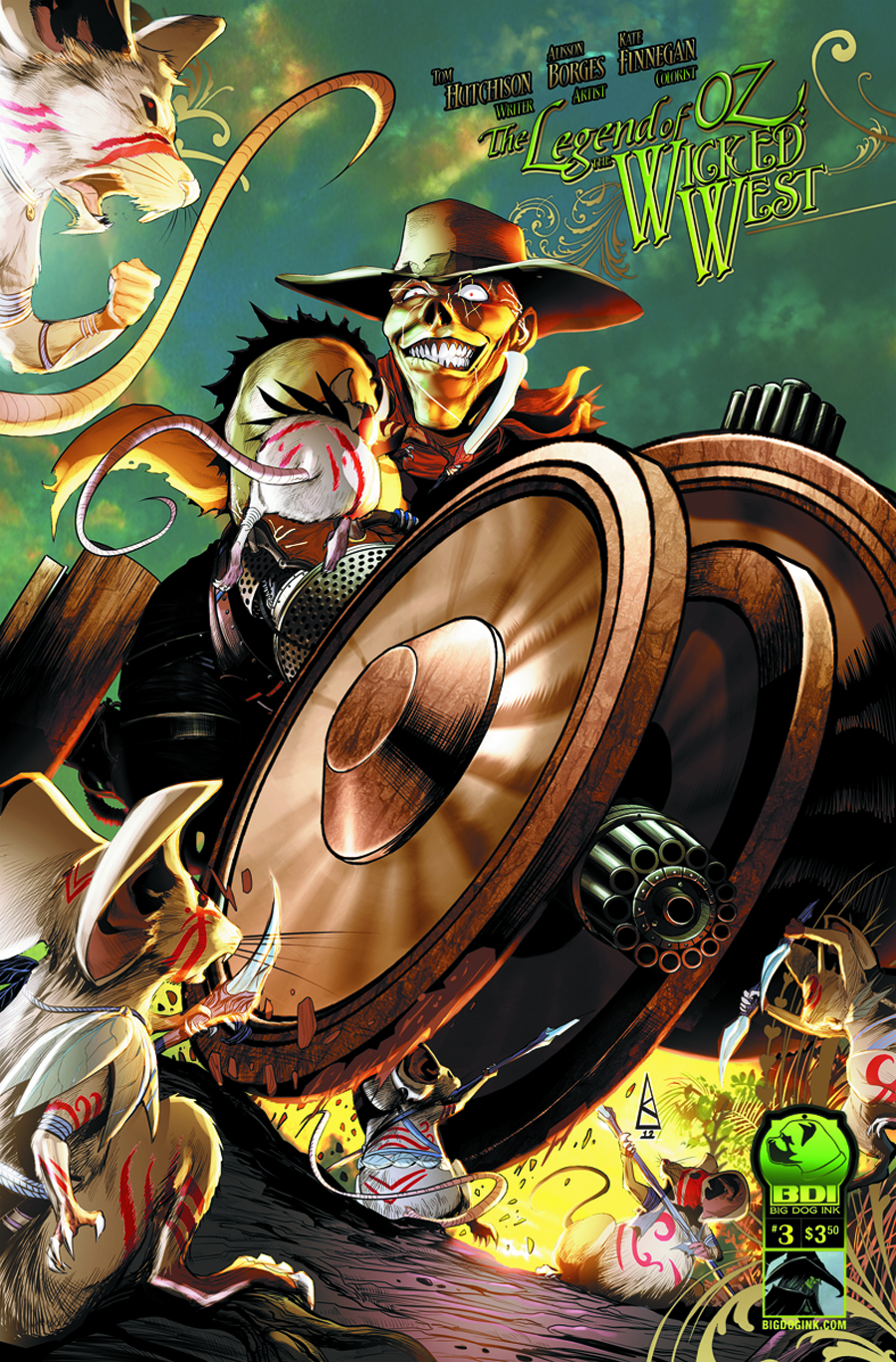 LEGEND OF OZ THE WICKED WEST ONGOING #3