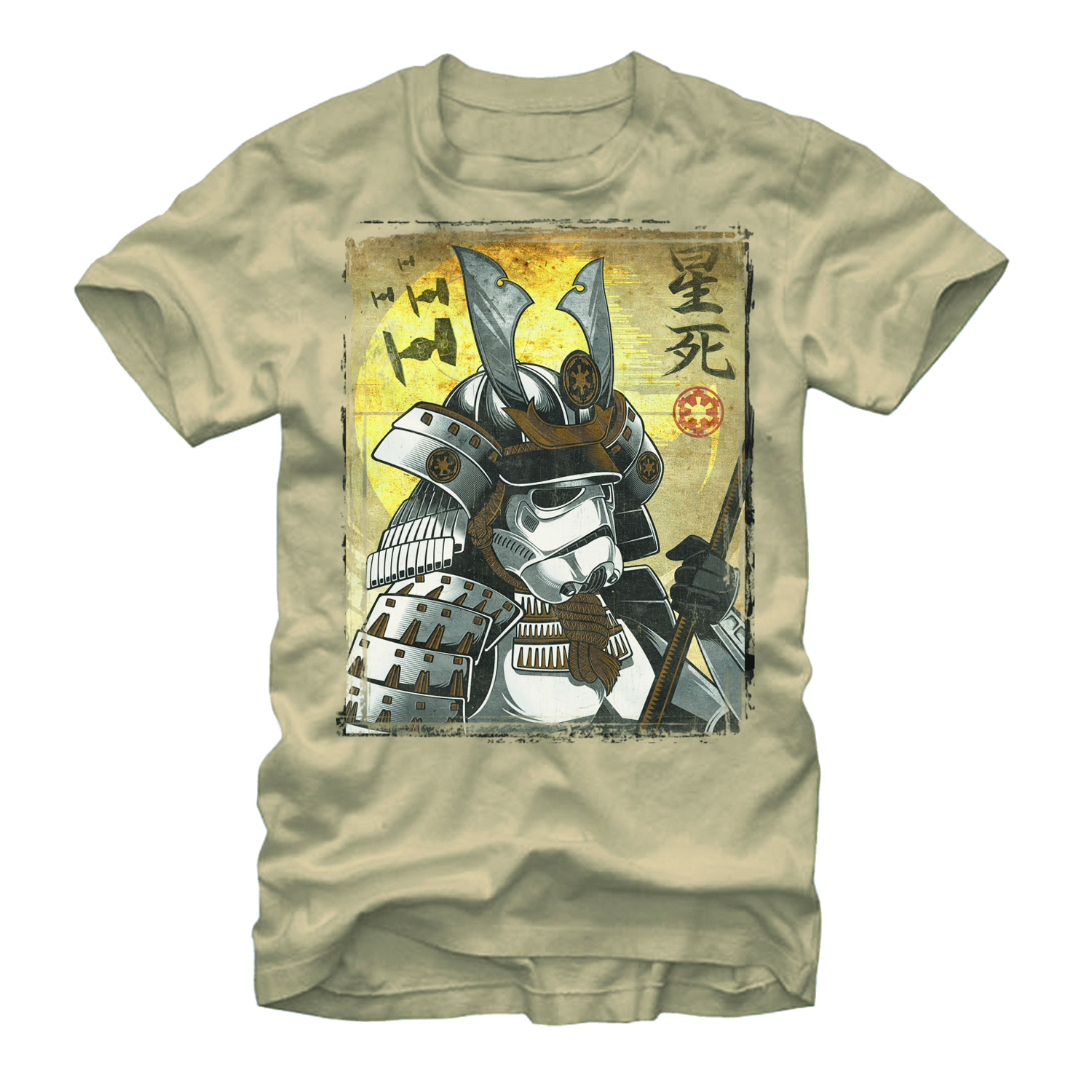 STAR WARS SAMURAI TROOPER T/S LG