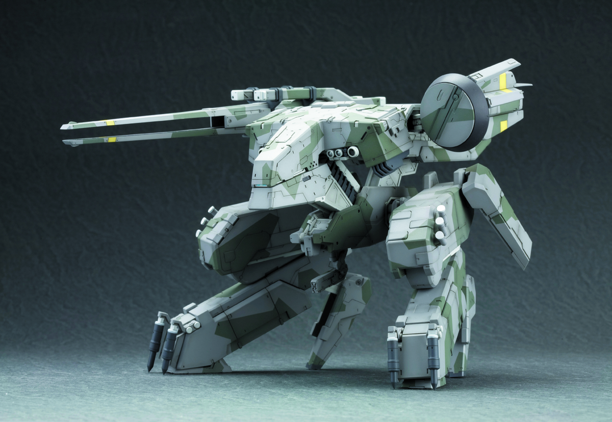 MGS METAL GEAR REX PLASTIC MDL KIT