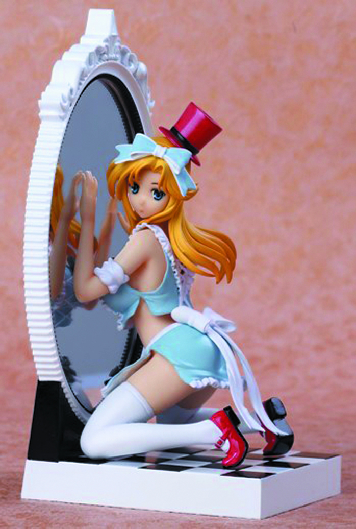 FTF VOL 03 ALICE IN MIRROR WORLD PVC FIG BLUE VER