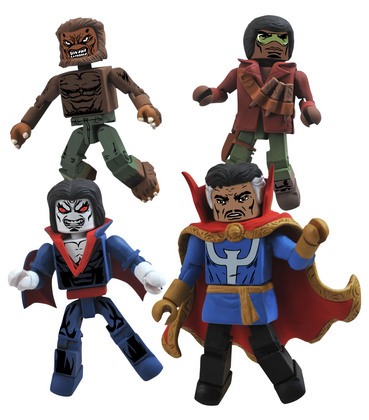 MARVEL MINIMATES STRANGE TALES BOX SET