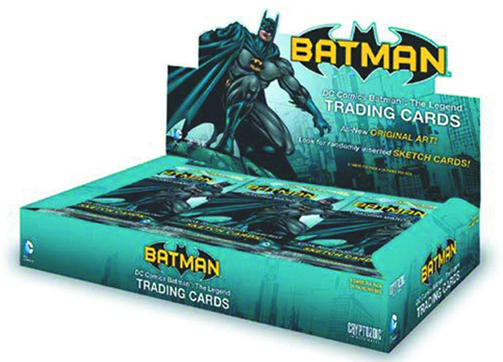DC COMICS BATMAN THE LEGEND T/C BOX