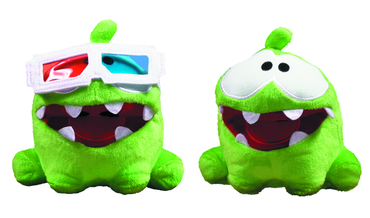 CUT THE ROPE 5-IN POSE-N-PLAY PLUSH ASST