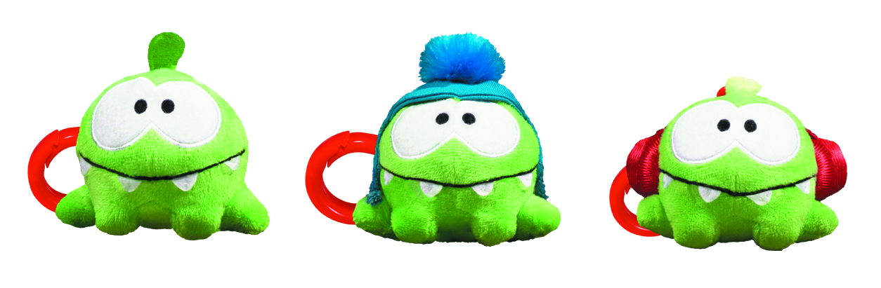 CUT THE ROPE 3-IN PLUSH BP CLIP W/SOUND ASST