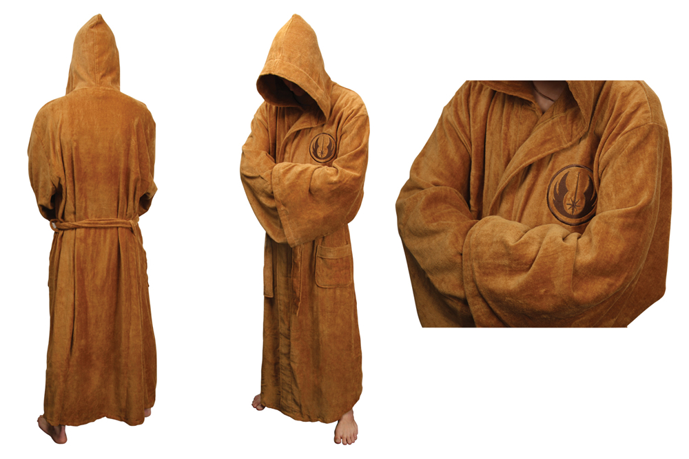 STAR WARS JEDI HOODED FLEECE BATHROBE