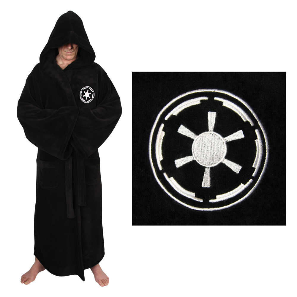 STAR WARS GALACTIC EMPIRE COTTON BATHROBE
