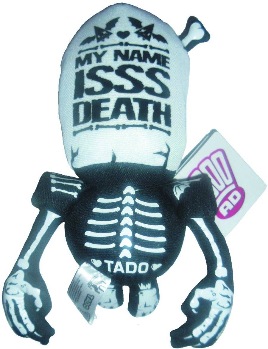 JUDGE DREDD JUDGE DEATH 22CM PLUSH