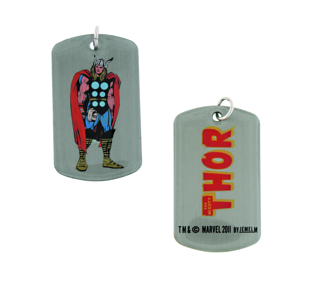 THOR DOG TAG ACTION PENDANT