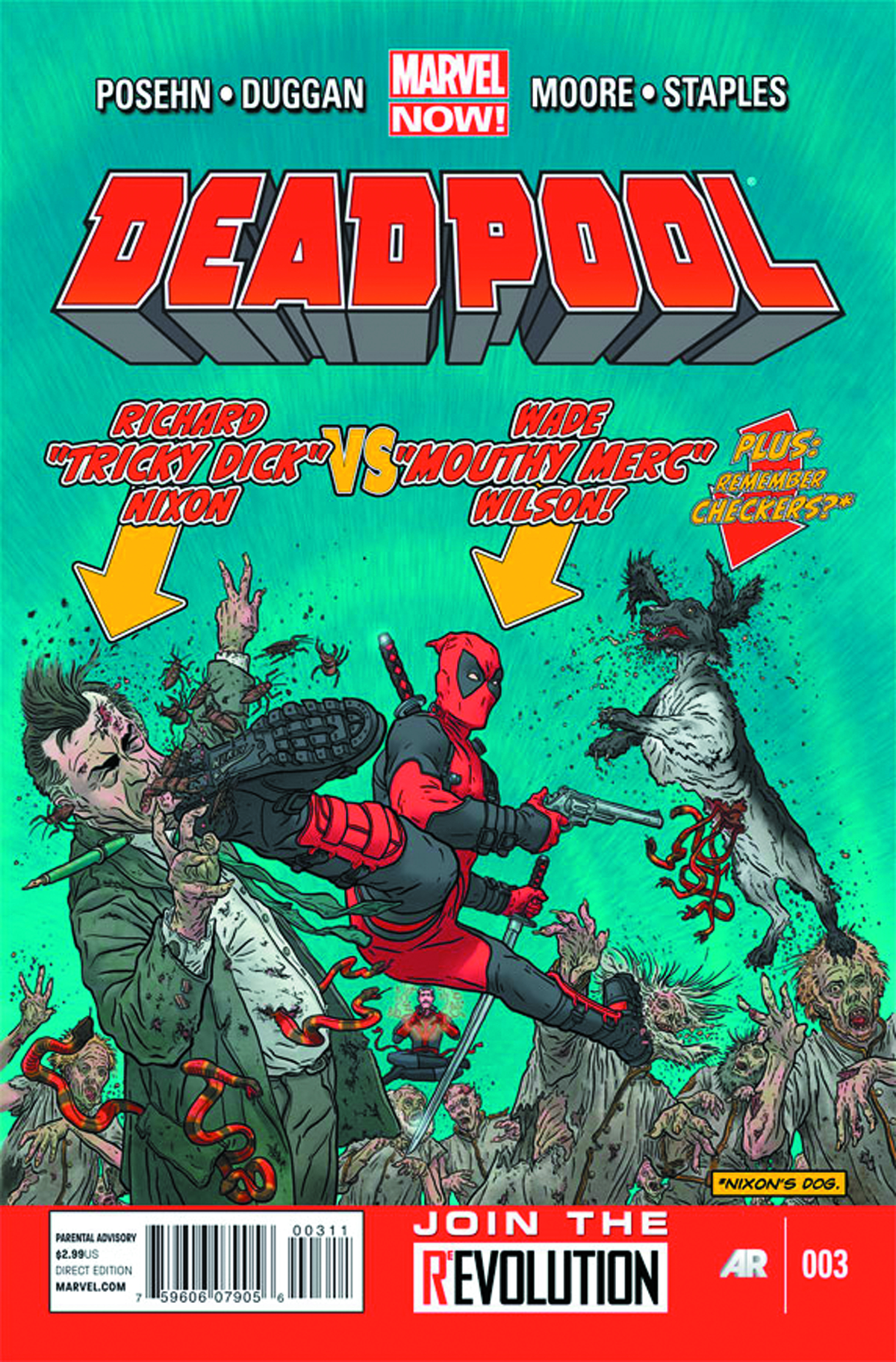 DEADPOOL #3 NOW