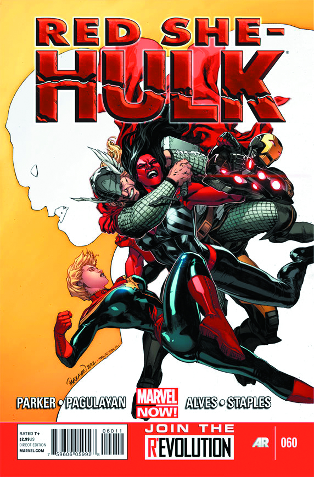 RED SHE-HULK #60 NOW