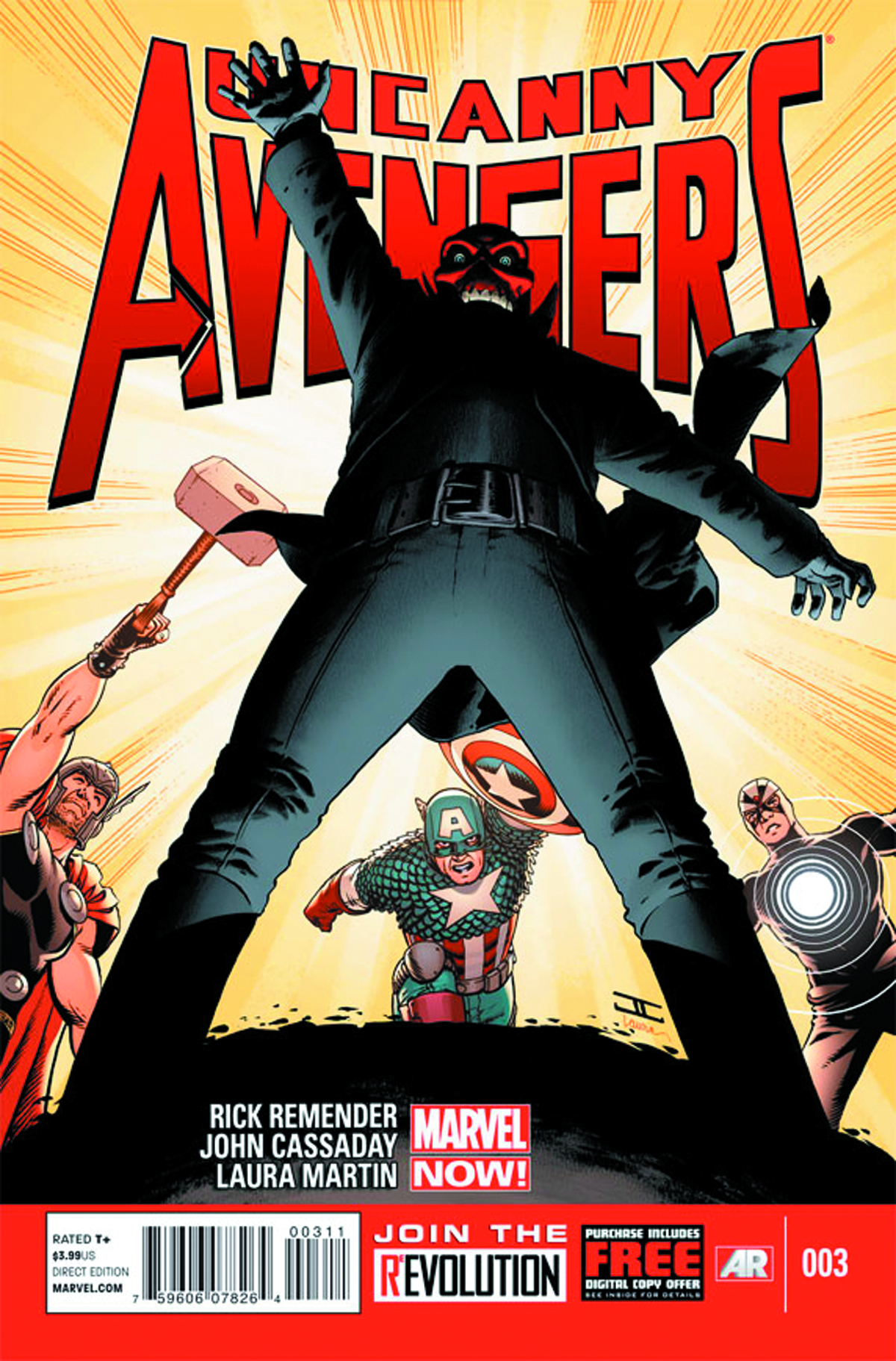 UNCANNY AVENGERS #3 NOW