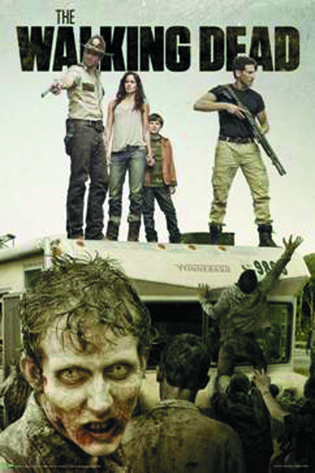 WALKING DEAD SEASON 2 ATTACK THE RV POSTER