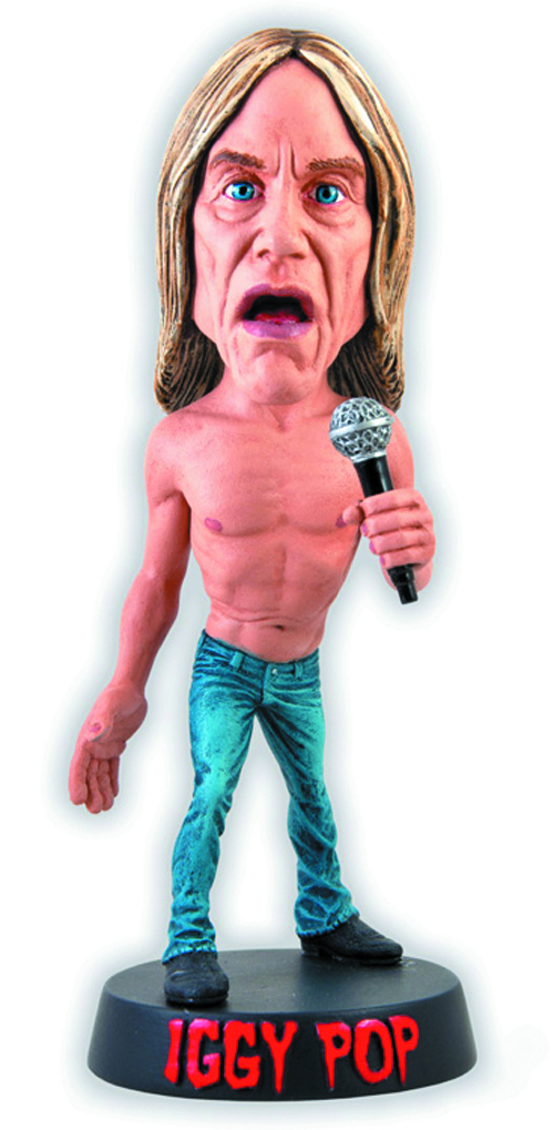 IGGY POP LIMITED EDITION BOBBLE HEAD