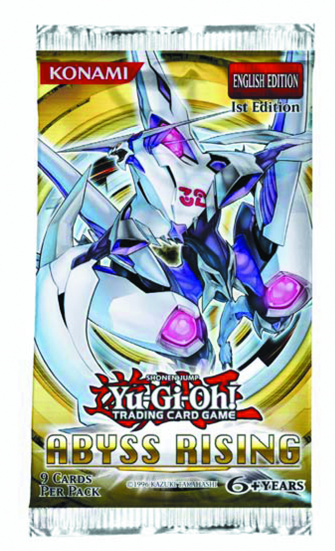 YU GI OH TCG ABYSS RISING BOOSTER DIS