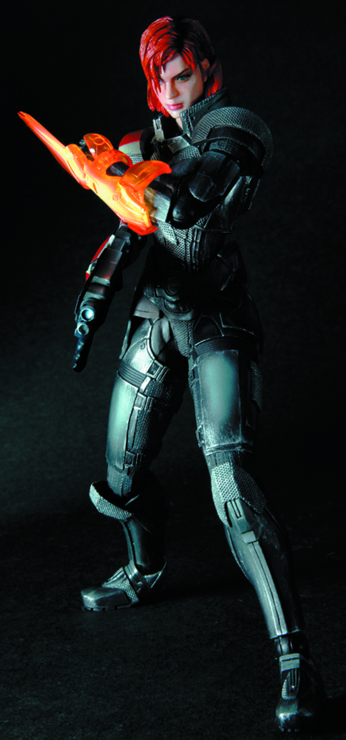 MASS EFFECT 3 PLAY ARTS KAI FEMALE COMM SHEPARD AF