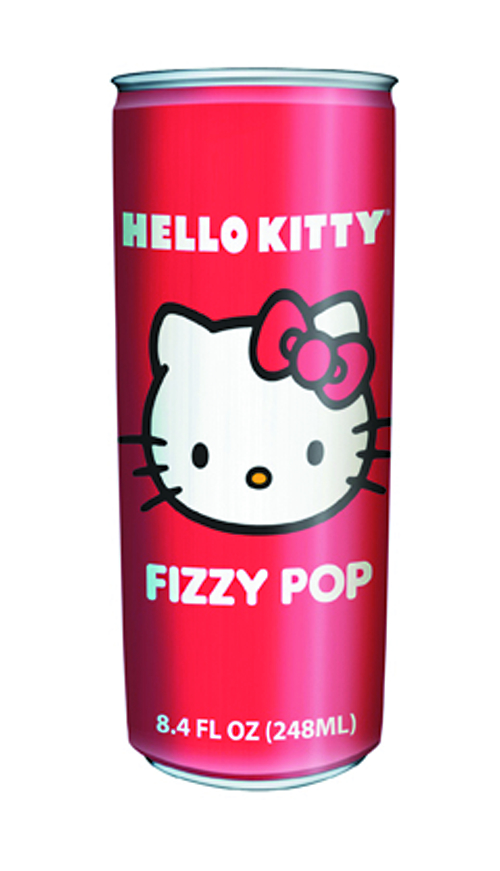 HELLO KITTY FIZZY POP DRINK 24 CT