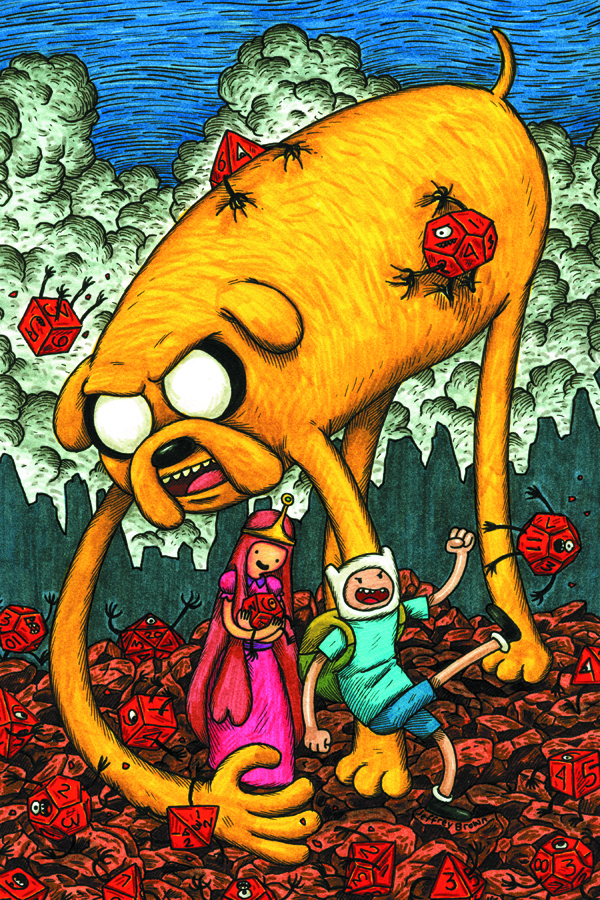 ADVENTURE TIME #1 BROWN VAR