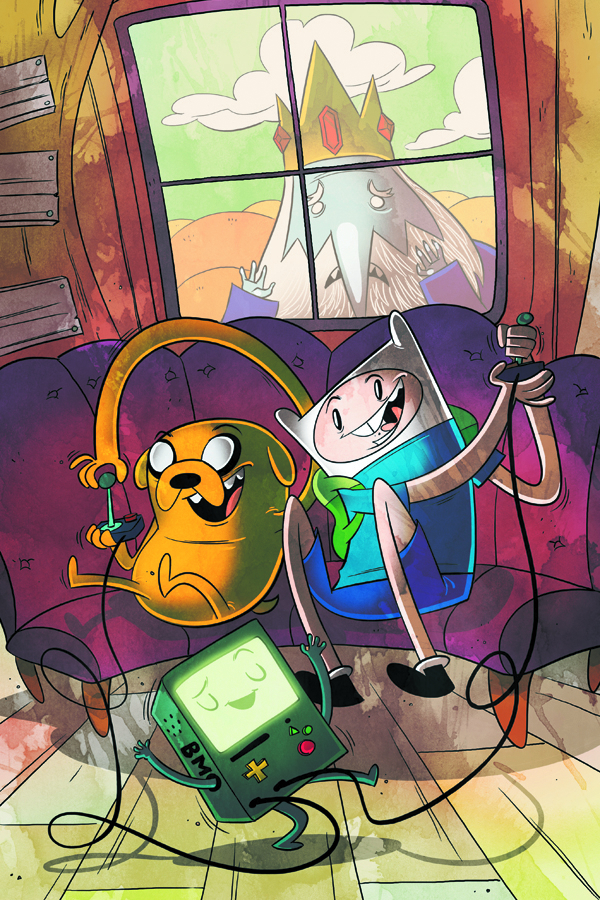 ADVENTURE TIME #5 GABE PENNY ARCADE VAR