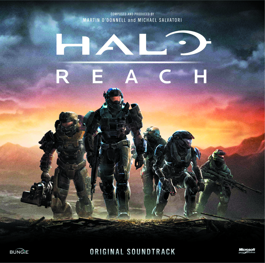 HALO REACH OST CD