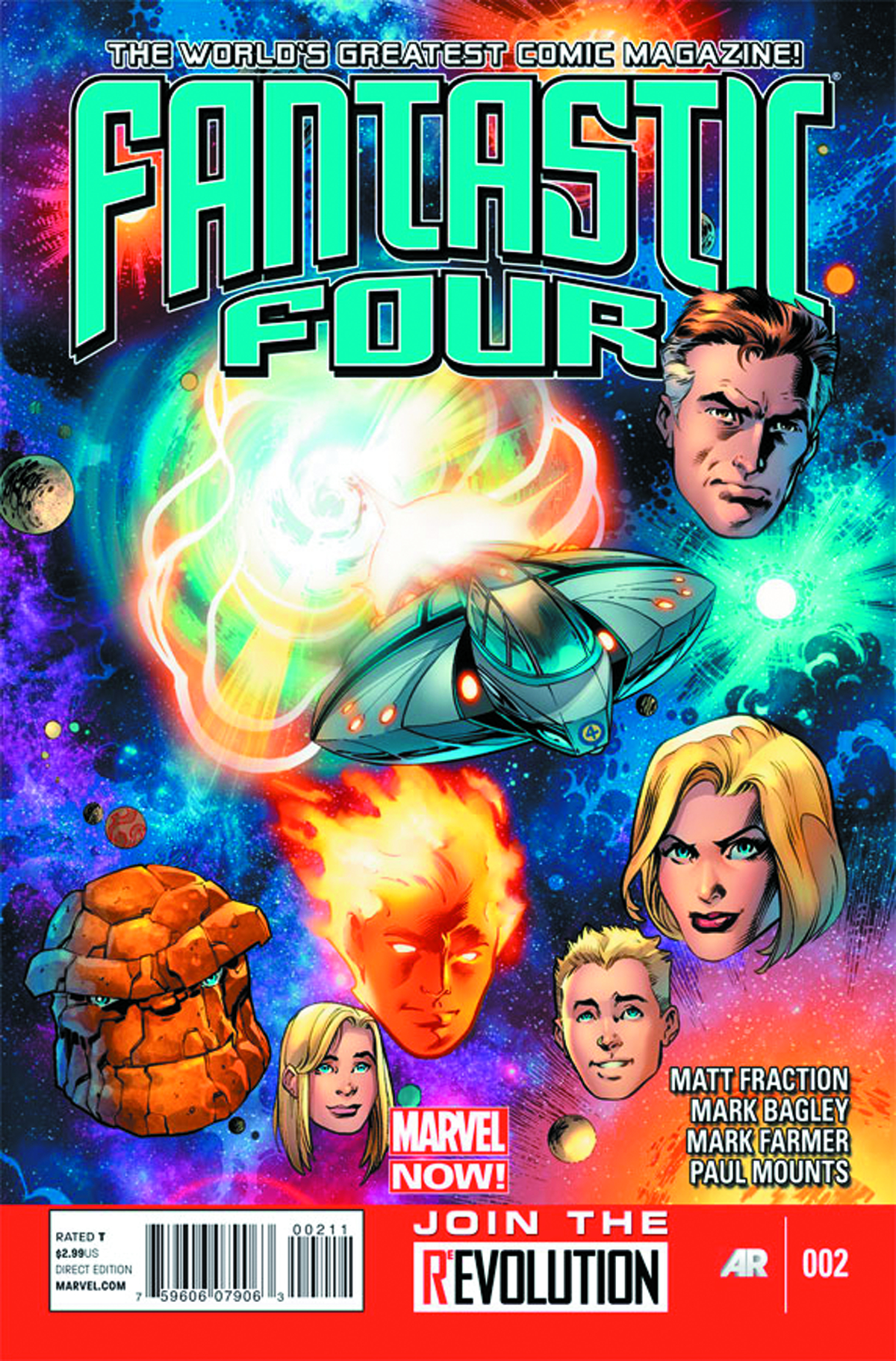 FANTASTIC FOUR #2 NOW