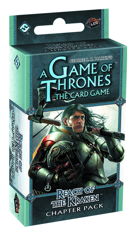 GAME THRONES LCG REACH OF THE KRAKEN CHAPTER PACK