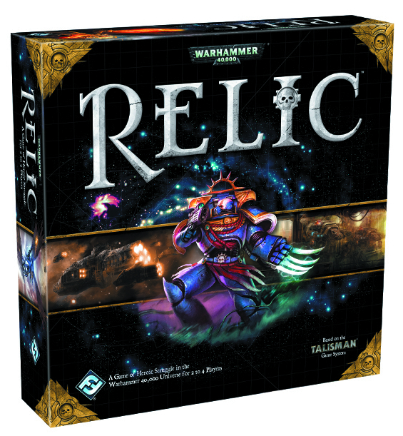 WH40K RELIC BOARD GAME