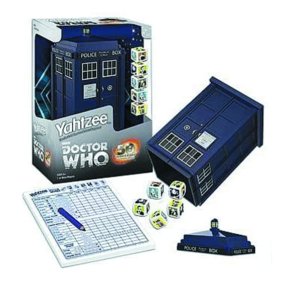 DOCTOR WHO TARDIS YAHTZEE COLLECTORS EDITION