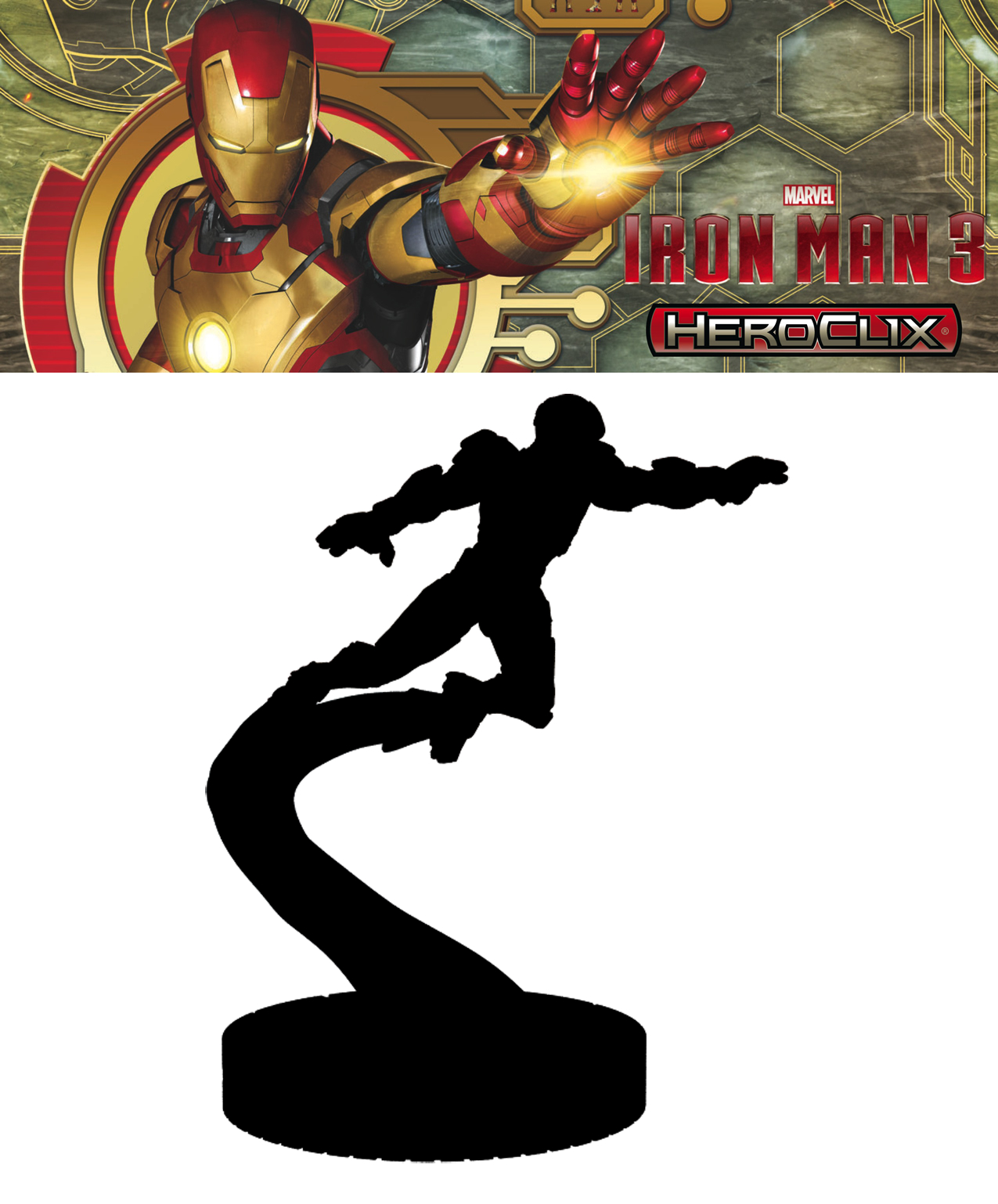 FCBD 2013 MARVEL HEROCLIX IRON MAN 3 20CT BRICK