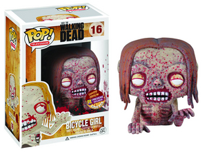 POP WALKING DEAD BICYCLE GIRL ZOMBIE PX VINYL FIG