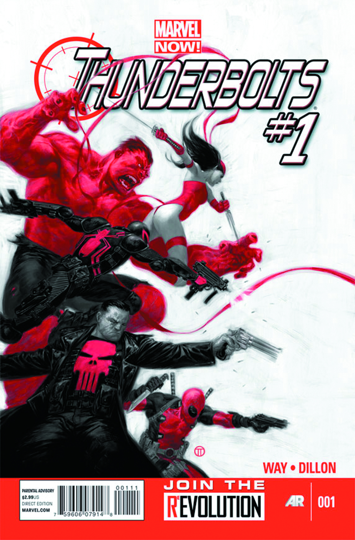 THUNDERBOLTS #1 NOW