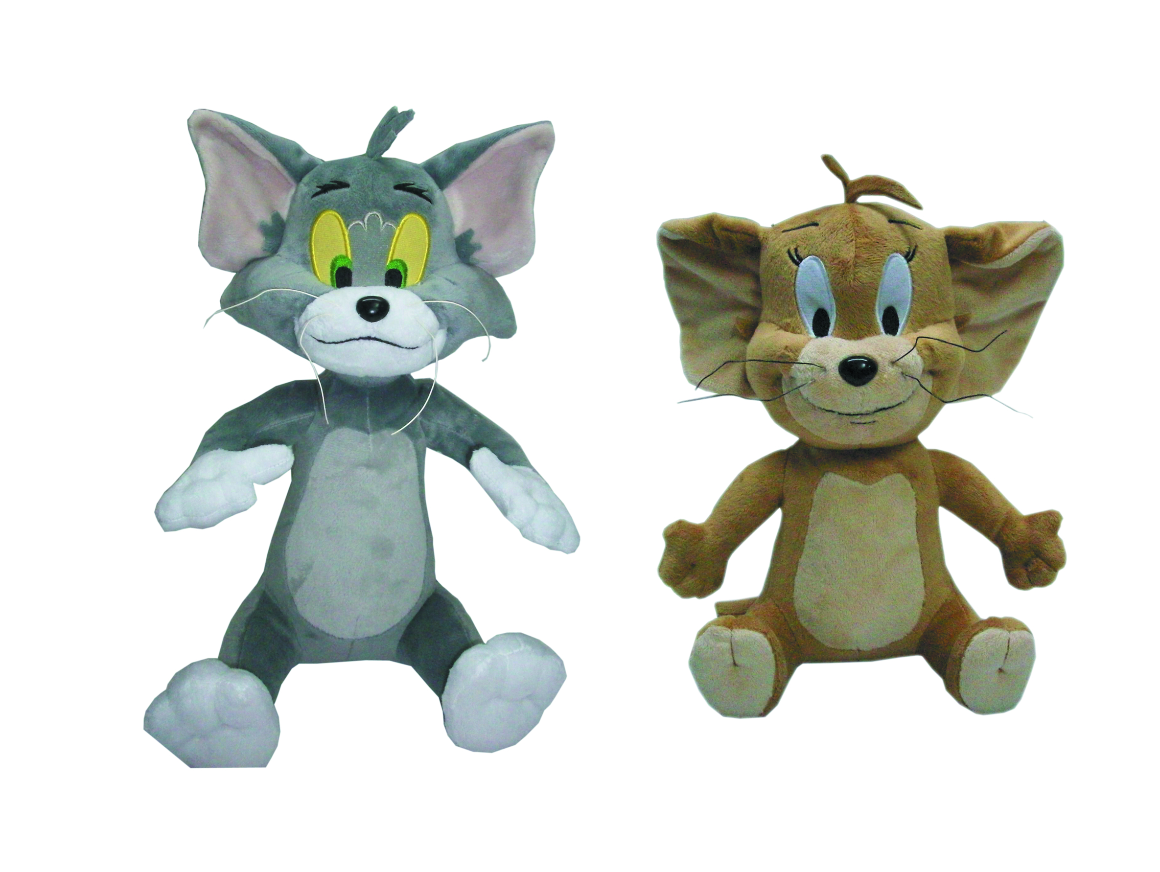 HANNA BARBERA TOM & JERRY 12-IN PLUSH DLX SET
