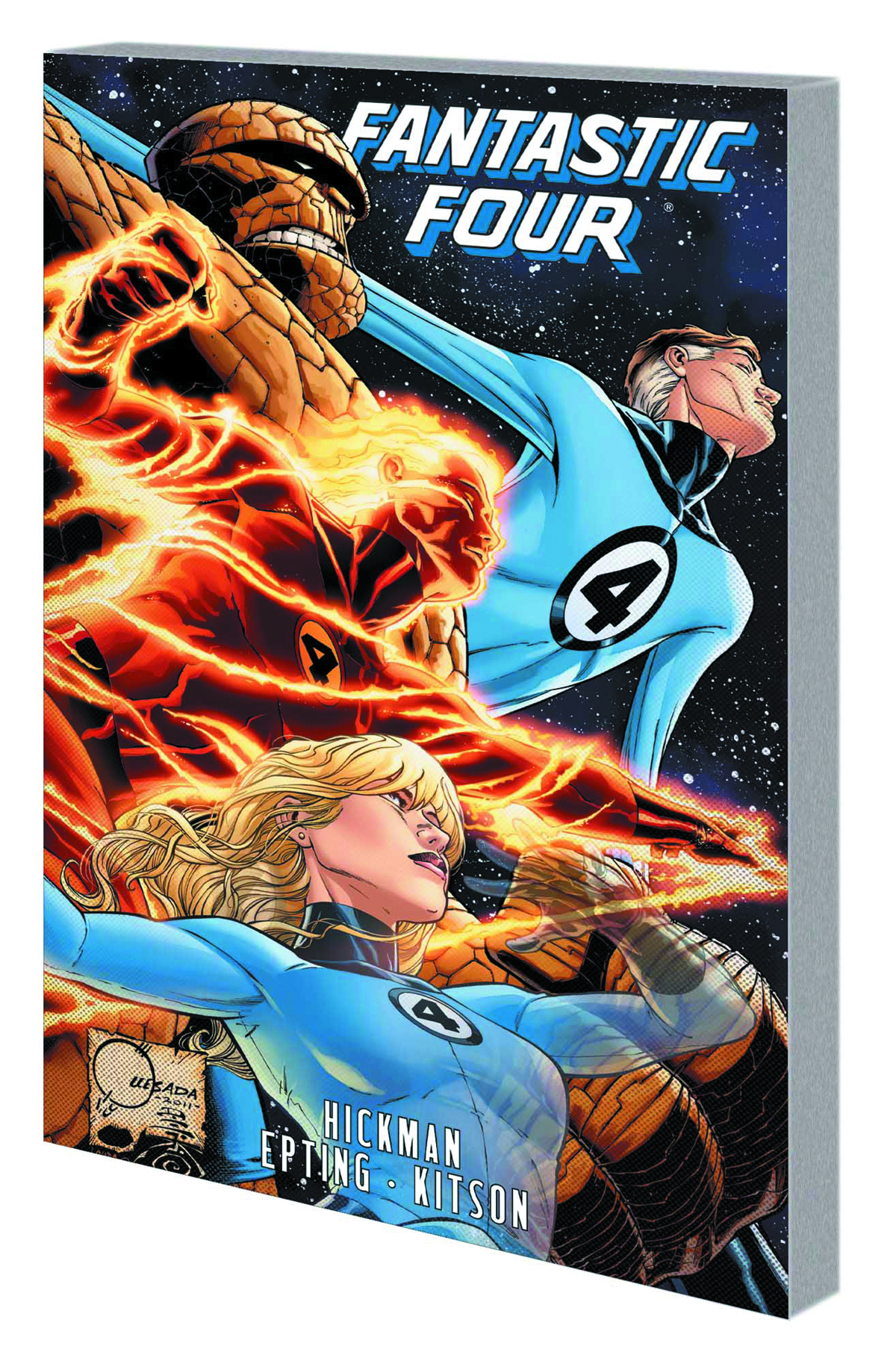 FANTASTIC FOUR BY JONATHAN HICKMAN TP VOL 05