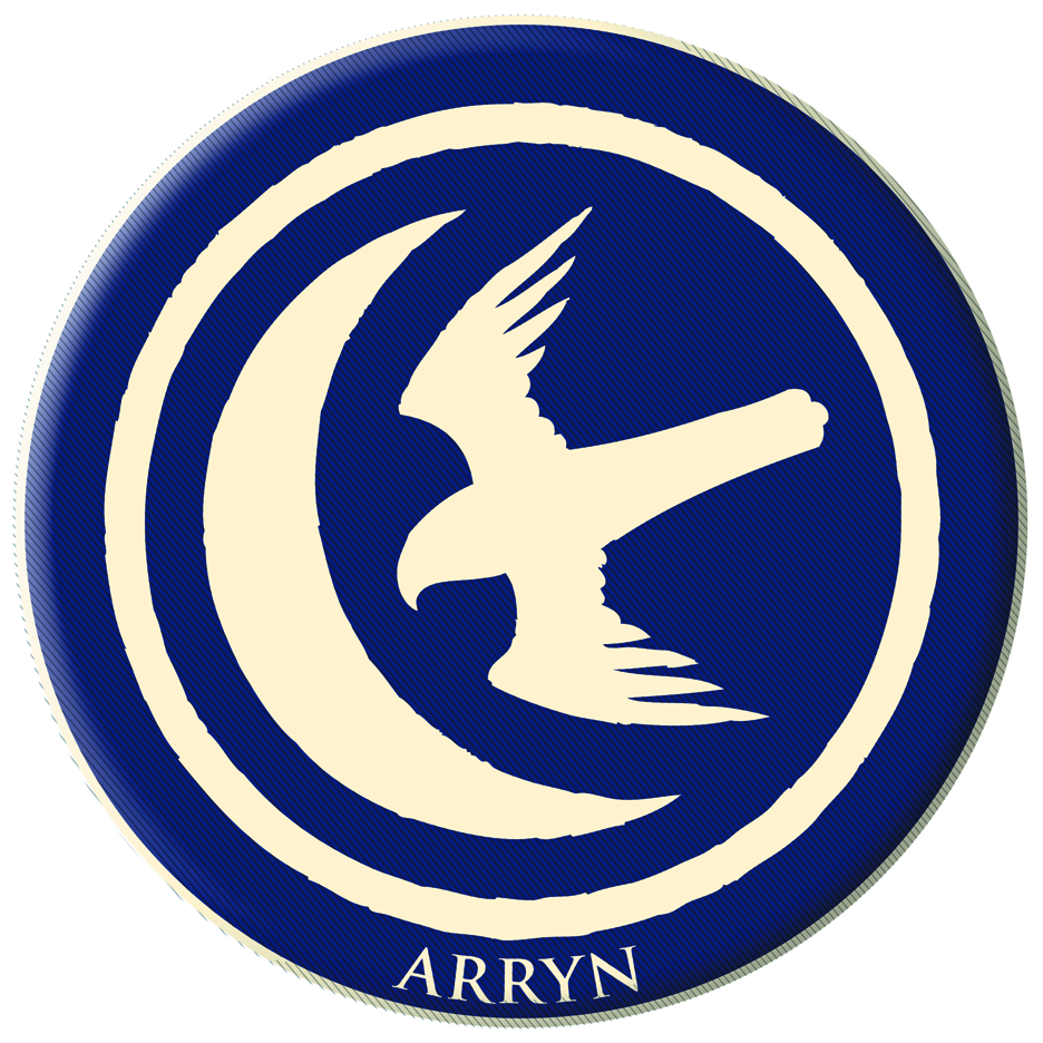 GAME OF THRONES EMBROIDERED PATCH ARRYN