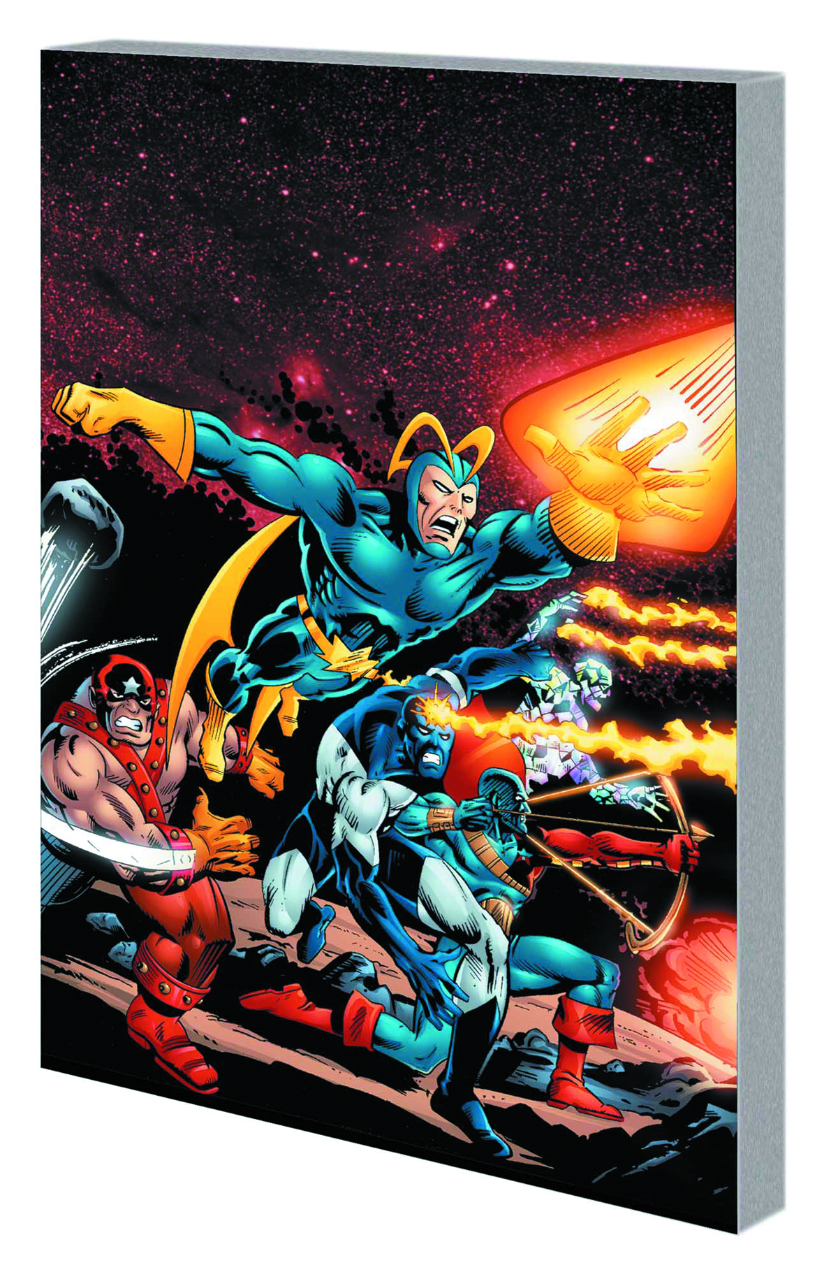 GUARDIANS OF GALAXY TP VOL 01 TOMORROWS AVENGERS