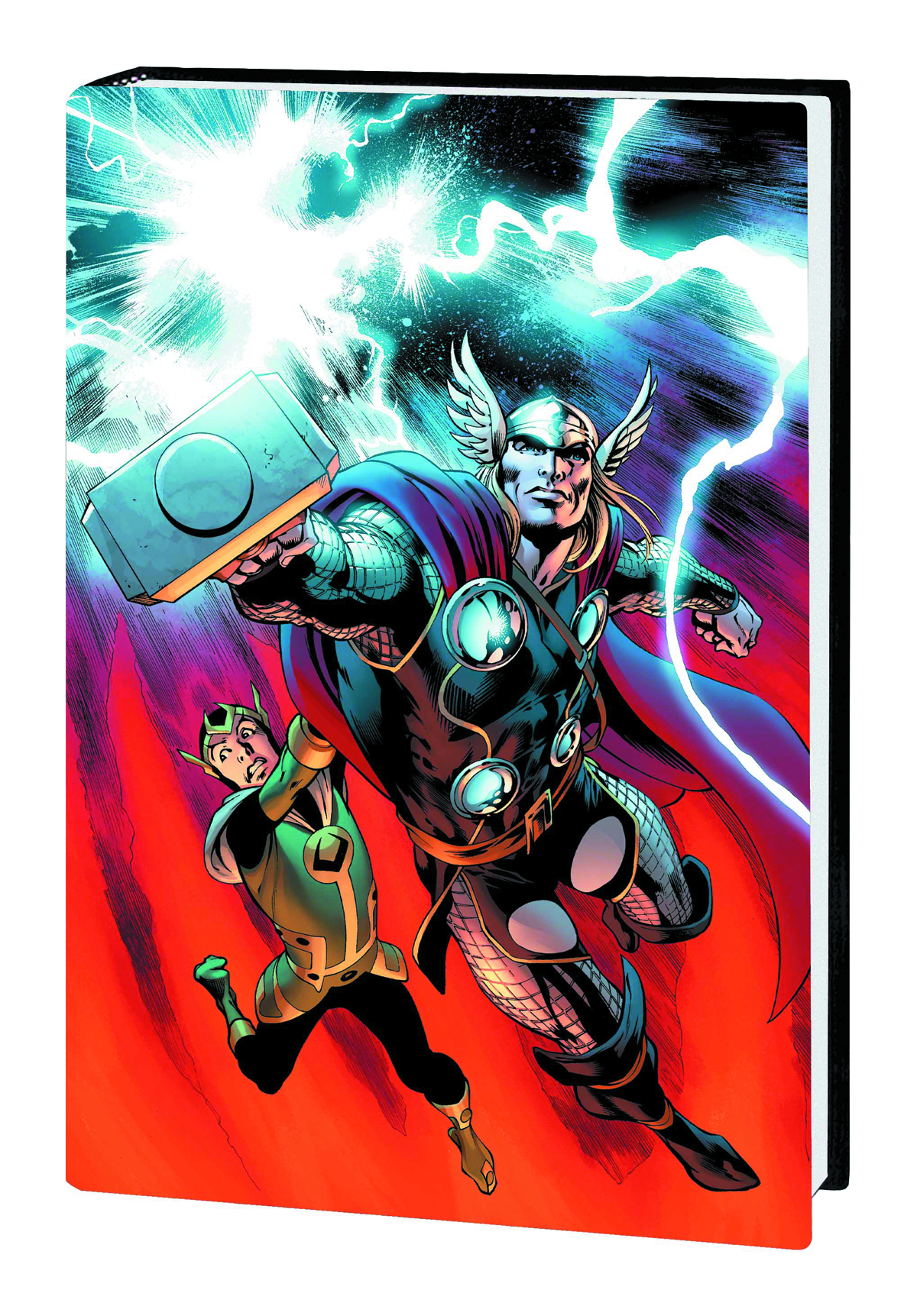 MIGHTY THOR JIM PREM HC EVERYTHING BURNS