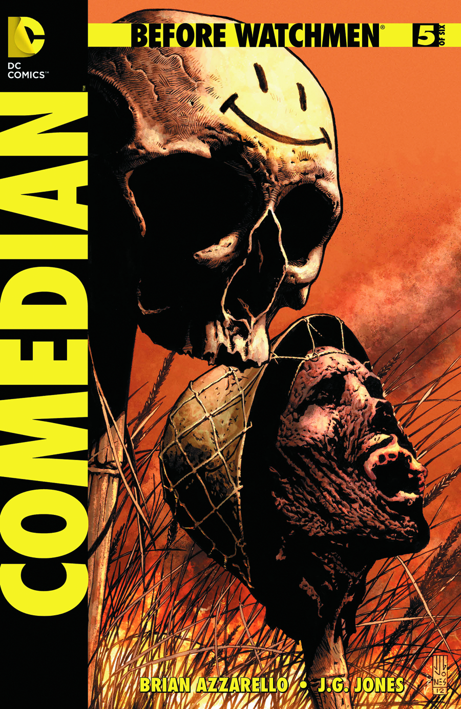 BEFORE WATCHMEN COMEDIAN #5 (OF 6) (RES)