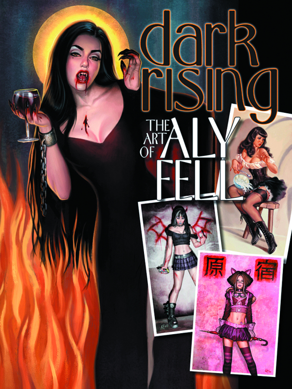 DARK RISING ART OF ALY FELL SC