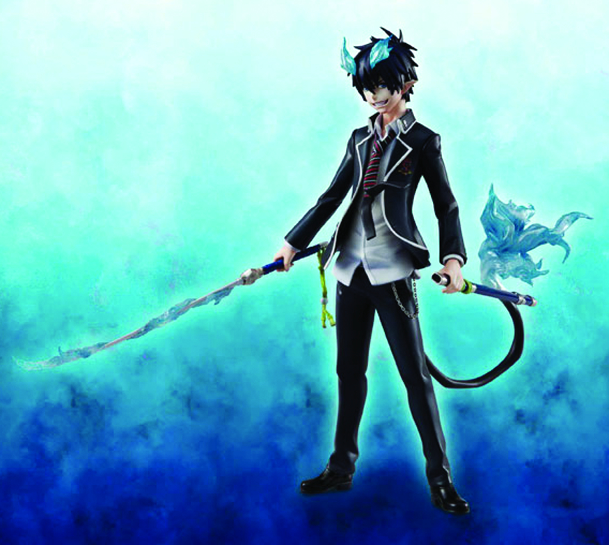 BLUE EXORCIST RIN OKUMURA GEM PVC FIG