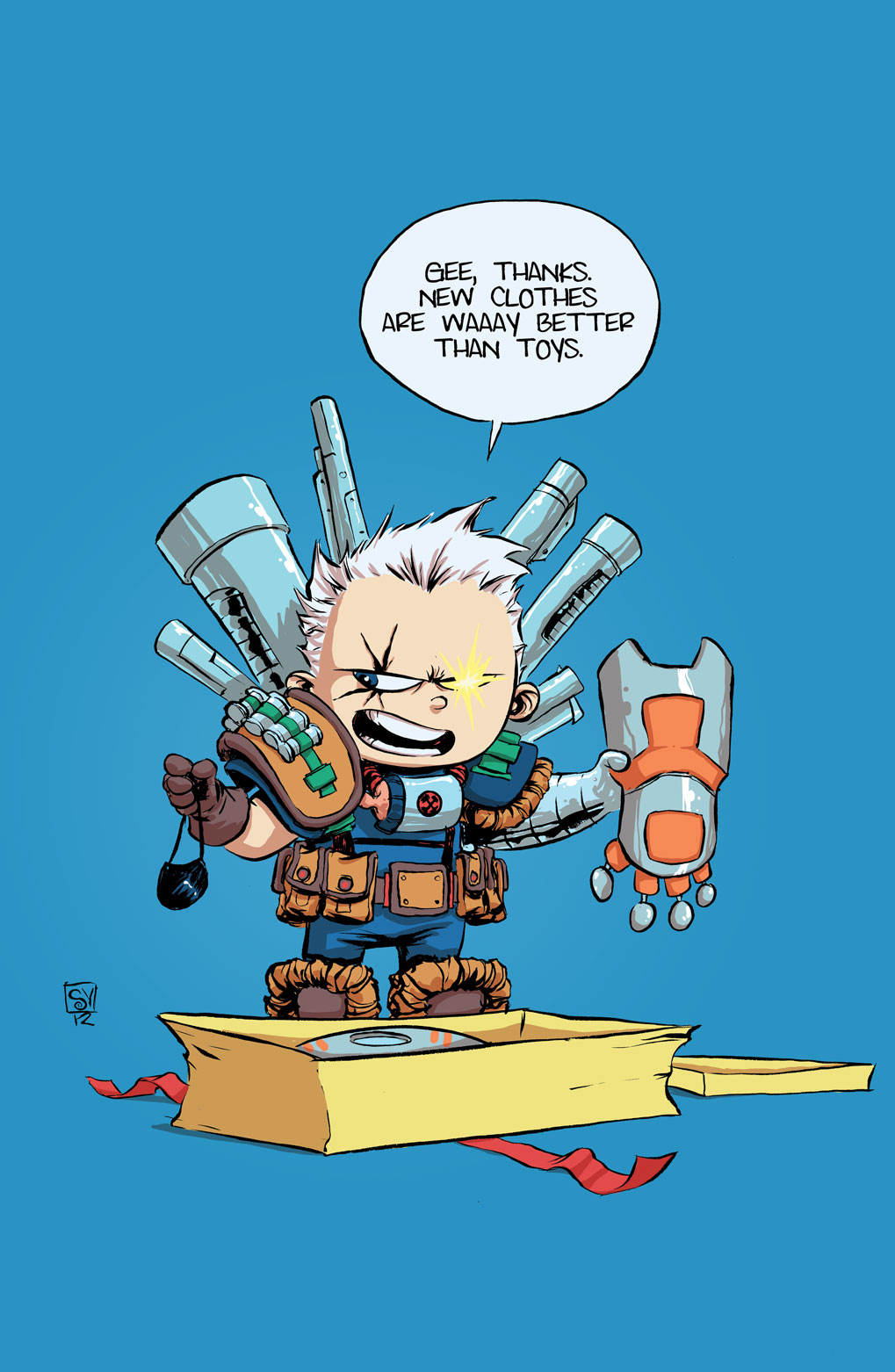 CABLE AND X-FORCE #1 YOUNG VAR NOW