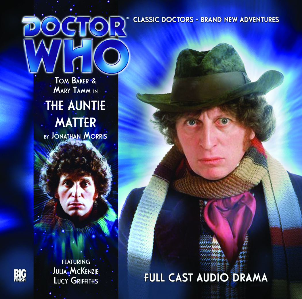 DOCTOR WHO AUNTIE MATTER AUDIO CD