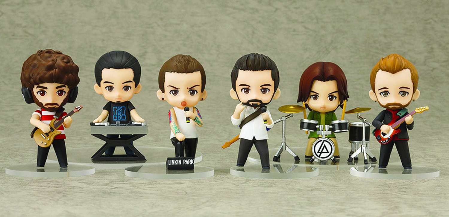 LINKIN PARK NENDOROID PETIT FIG SET