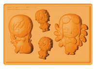 ONE PIECE NAMI & ROBIN SILICONE ICE TRAY