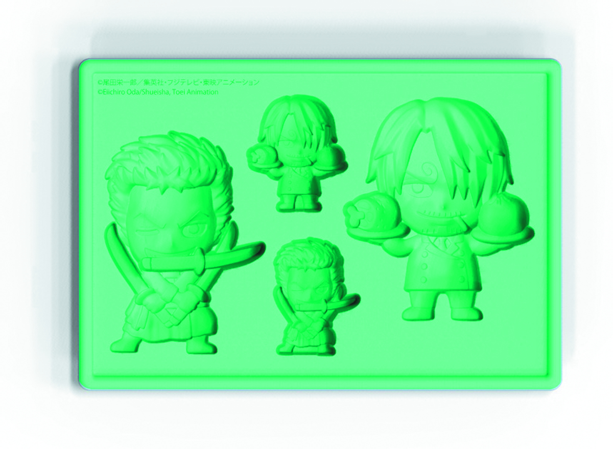ONE PIECE ZORO & SANJI SILICONE ICE TRAY