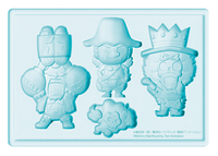 ONE PIECE USOPP FRANKY & BROOK SILICONE ICE TRAY