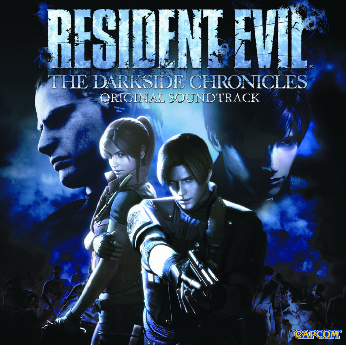 RESIDENT EVIL DARKSIDE CHRONICLES OST CD
